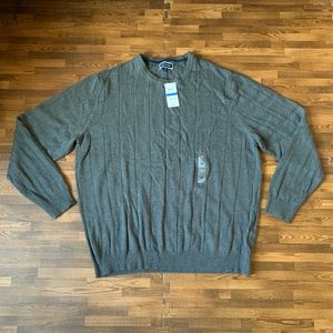 NWT Club Room Charcoal Gray Pull-Over Sweater